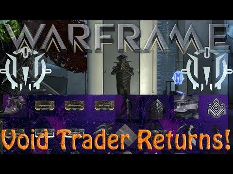 Warframe - Void Traders Returned! 112th Rotation thumbnail