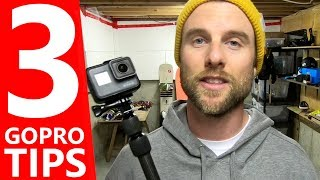 3 GoPro Tips to Make Better Videos