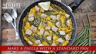 Making A Spanish Paella Without A Paella Pan
