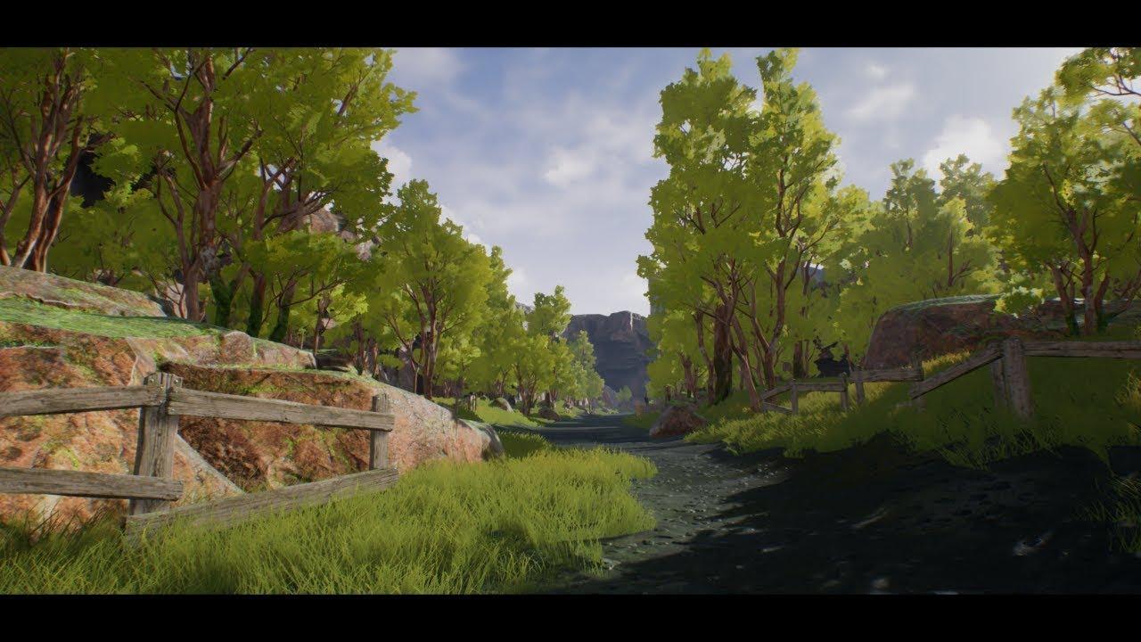 unreal engine 4 how to make a lake