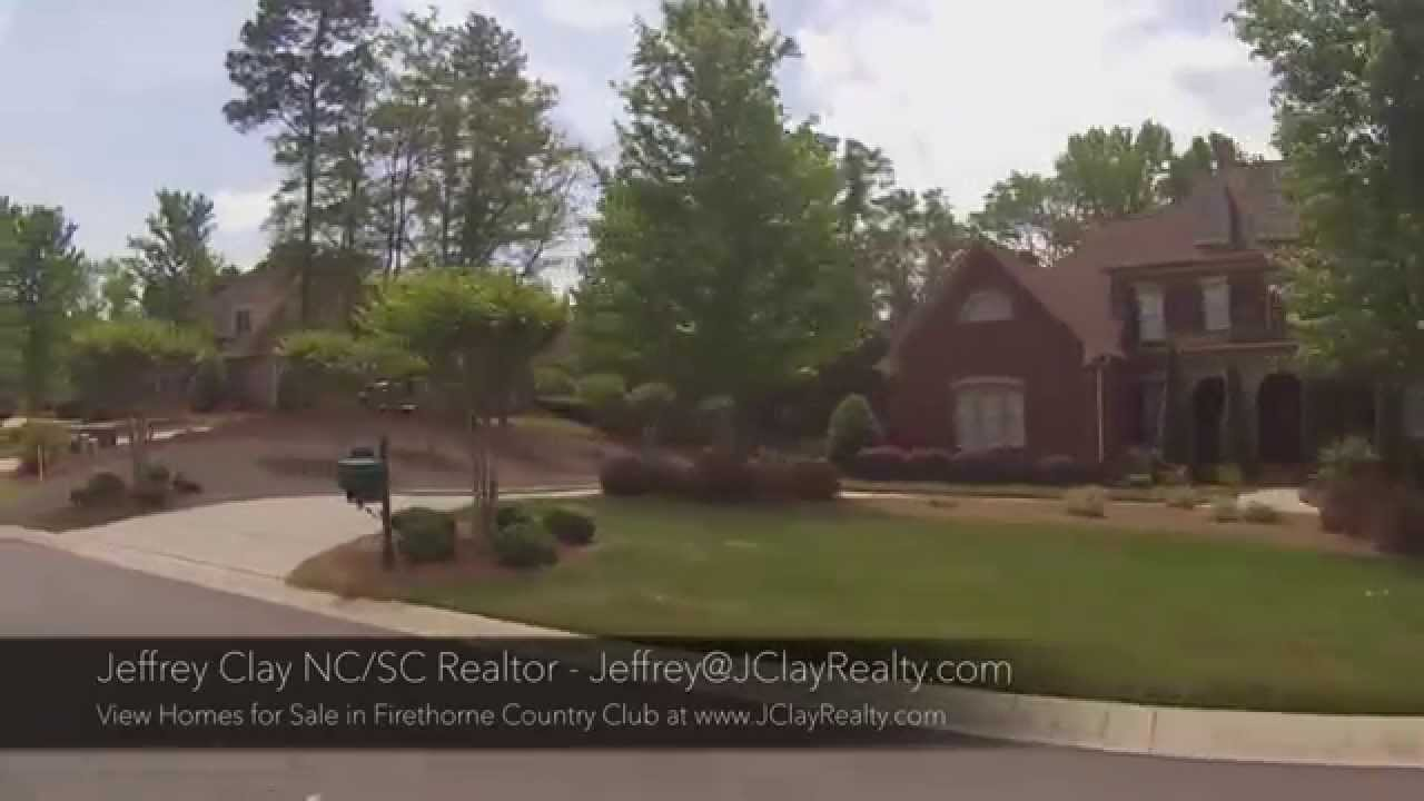 Firethorne country club homes for sale marvin nc youtube for Firethorne builders