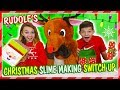 RUDOLF'S SLIME MAKING SWITCH UP CHALLENGE | We Are The Davises