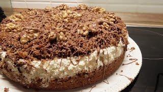Orzechowy tort dyplomaty tort dyplomatöw /Kasia gotuje