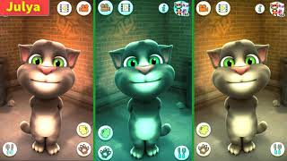 Colors Talking Tom Cat Funny Fail