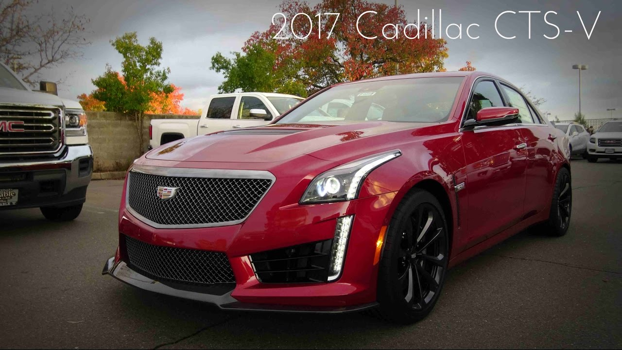2017 cadillac cts v 6 2 l supercharged v8 road test review youtube. Black Bedroom Furniture Sets. Home Design Ideas