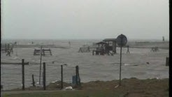 Harlesiel - Sturmflut - Land unter