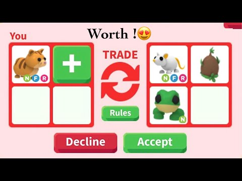 What People Trade For NEON GINGER CAT - Adopt Me Roblox