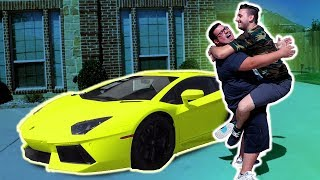 BUYING HIM HIS DREAM CAR!!