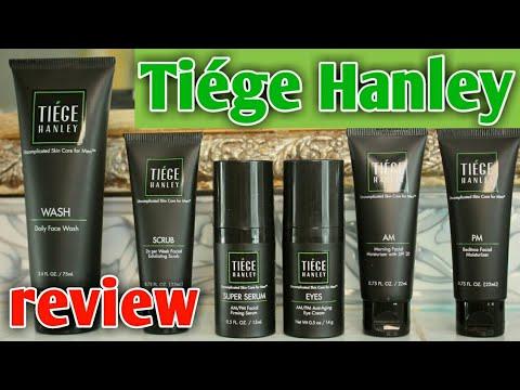 tiege hanley honest review |مراجعة صادقة لمستحضرات العناية بالبشرة لtiege hanley
