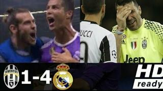 Juventus vs Real Madrid 1-4 All Goals & Highlights
