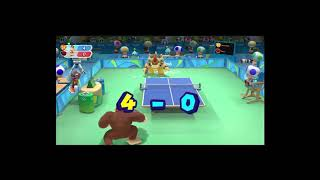[Anime] Samsonov (Chimp) playing with ZJK(The Beast) Rio 2016 table Tennis, beauty & beast