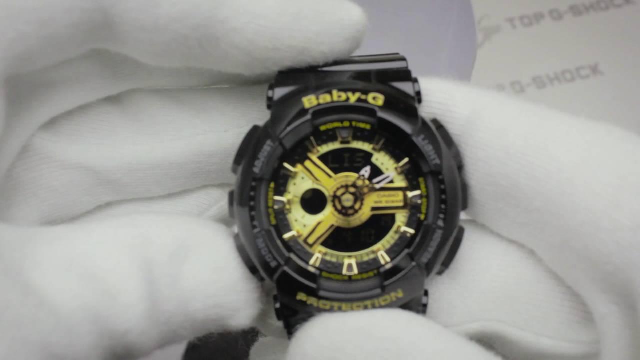 9e52880ab50 Casio Baby-G BA-110-1A обзор наручных часов от Интернет-магазина TopGShop.ru