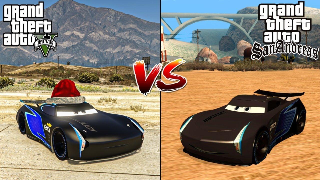 GTA 5 JACKSON STORM VS GTA SAN ANDREAS JACKSON STORM - WHICH IS BEST?
