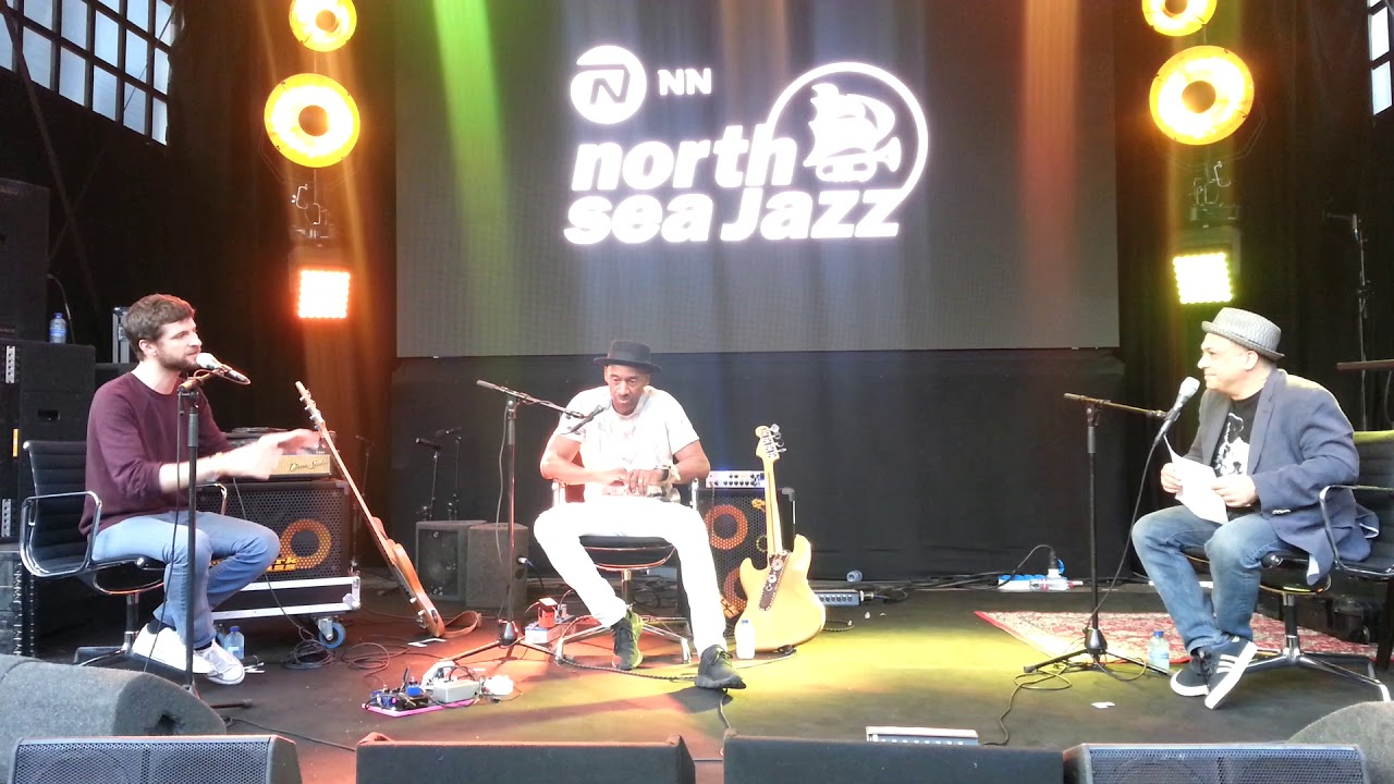 Marcus Miller meets Michael League (Snarky Puppy), Basstalk #3, July 13th, 2018, North Sea Jazz