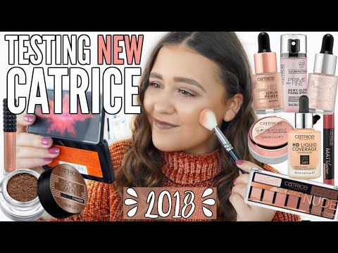 TESTING NEW CATRICE 2018 SPRING & SUMMER MAKEUP | First Impressions Review & Wear Test