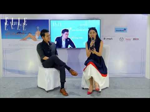 Quang Vinh chia sẻ kinh nghiệm du lịch Đà Nẵng trong Talkshow Cocobay tại Elle Getaway 2017