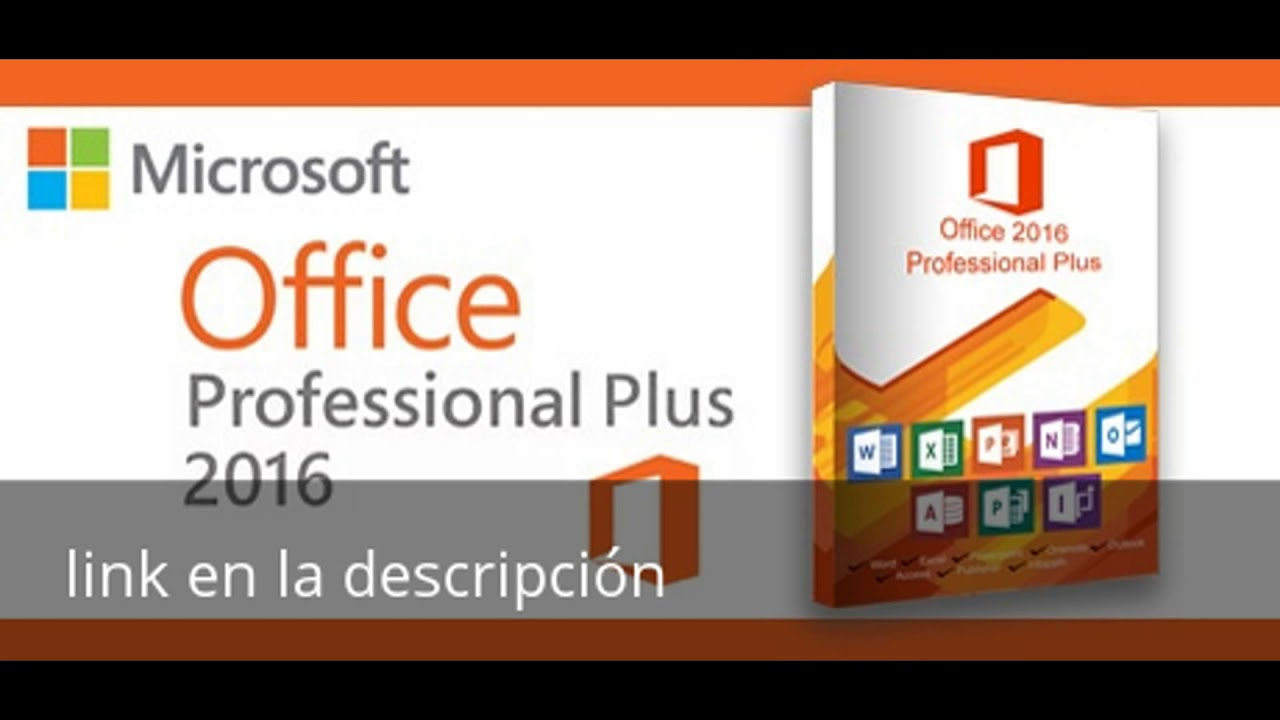 Office 2016 Pro Plus Activador Por Mega Youtube