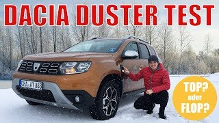 Dacia Duster Test 2018 │ Deutsch │ Review
