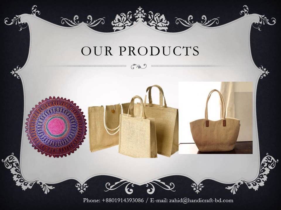 Handicraft of Bangladesh- Product Profile by Handicraft BD