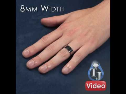 with and black products flat bands gold img rings rose lining cz edge groove wedding diamond inside mens tungsten