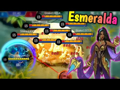 NEW HERO Esmeralda First Look - The New Meta? 🤔 Mobile Legends: Bang Bang thumbnail