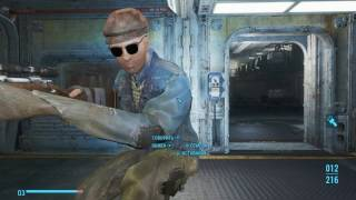 Fallout 4 Странный Дьякон