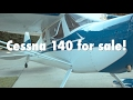Cessna 140 for sale!