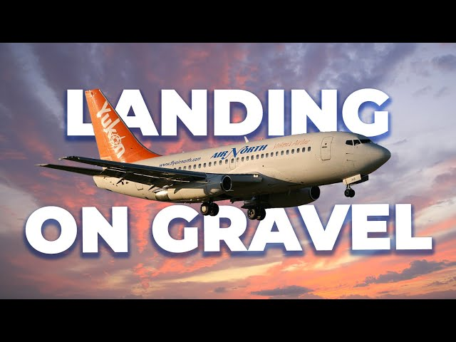 How Some Boeing 737s Are Equipped To Land On Gravel