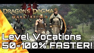 Dragon's Dogma! Increase Discipline Gain By 50-100%! Early Method!