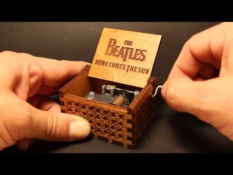 The Beatles - Here Comes The Sun Music Box (Invenio Crafts)