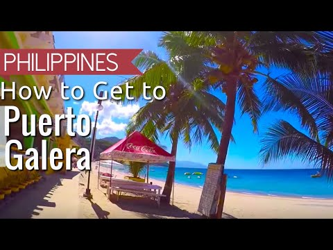 How to get to Puerto Galera White Beach from Manila Philippines | Asia travel VLOG
