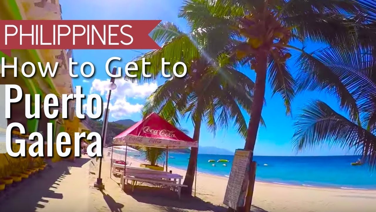 How To Get Puerto Galera White Beach From Manila Philippines Asia Travel Vlog You