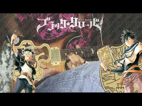 Black Clover Op 5 (Gamushara - Miyuna) TV Size Guitar Cover
