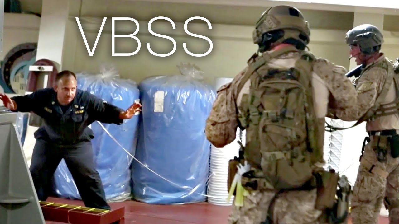 U.S Marines • Maritime Raid Force • VBSS ( Visit, Board, Search & Seizure ) • Training USA