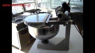 Ζυμωτήριο 20 Ltr / 10 Kg - Mixer Bakery With Fixed Bowl 20 Ltr