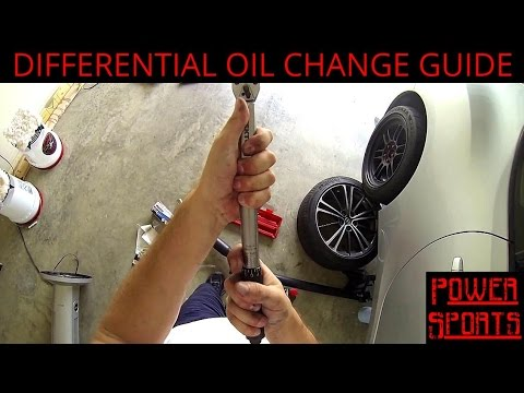 Scion FR-S Differential Oil Change Guide - Toyota 86 - Subaru BRZ