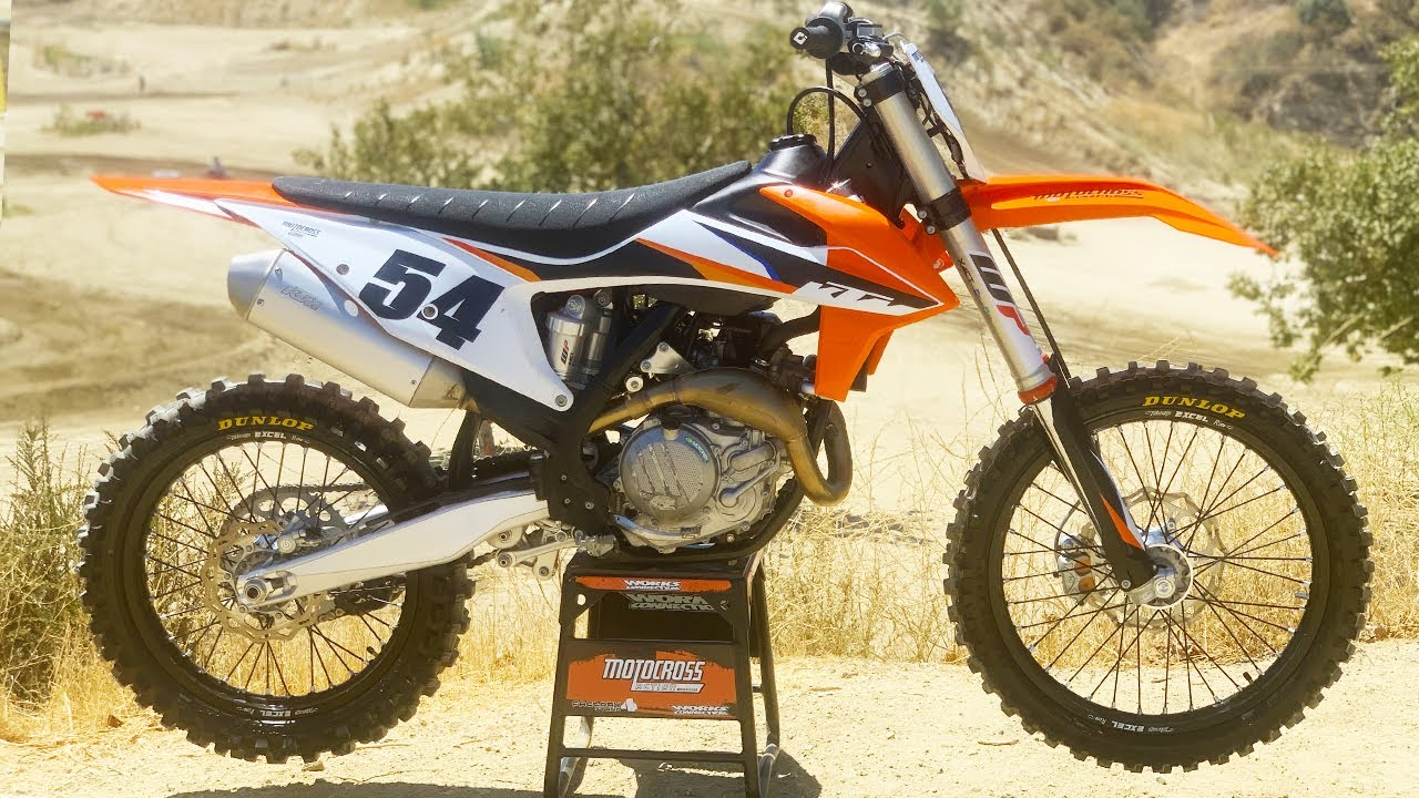 First Ride 2021 KTM 450SXF - Motocross Action Magazine