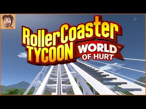 Let's Play - RollerCoaster Tycoon World (of hurt)