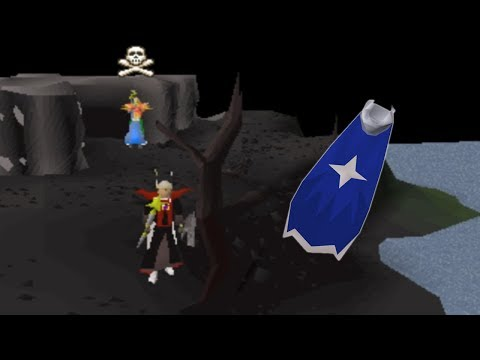 Pretending to be a Defenseless PvMer Getting the NEW Mage Capes