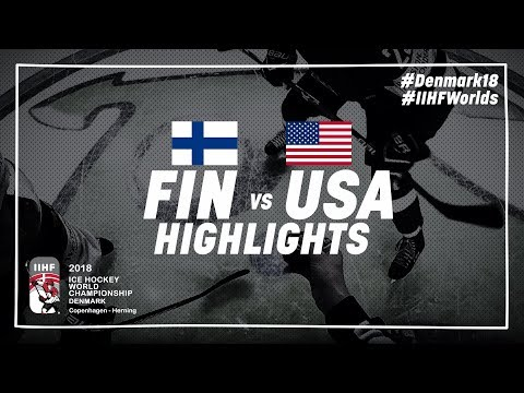 Game Highlights: Finland vs United States May 15 2018 | #IIHFWorlds 2018