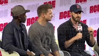 Chris Evans, Don Cheadle, & Jeremy Renner: Avengers Assemble