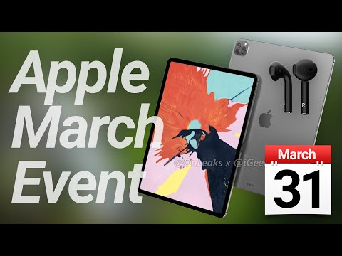 Apple March Event Leaked, IPad Pro 2020 In Production & AirPods 3 Delayed!