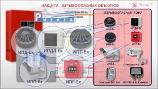 Комплекс устройств охранно-пожарной сигнализации для взрывоопасных объектов