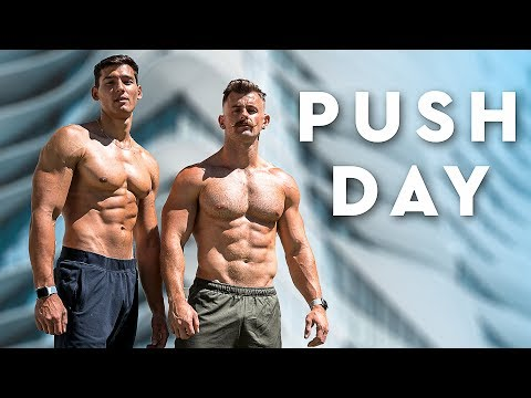 Full Push Workout With Training Tips (feat. Feat Armando Mayr)
