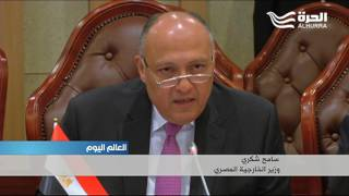 وزير الخارجية المصري في الخرطوم وسط توتر كبير في العلاقات بين البلدين
