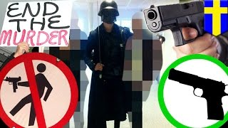 Swedish sword attack: killer dressed as Darth Vader sparks gun control debate - TomoNews