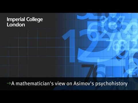 A mathematician's view on asimov's psychohistory