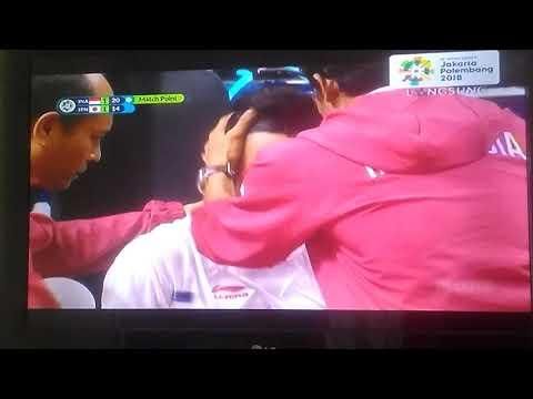 MAS IPUL & TEAM FINAL SEPAK TAKRAW ASIAN GAMES 2018 INDONESIA VS JEPANG (2-1)