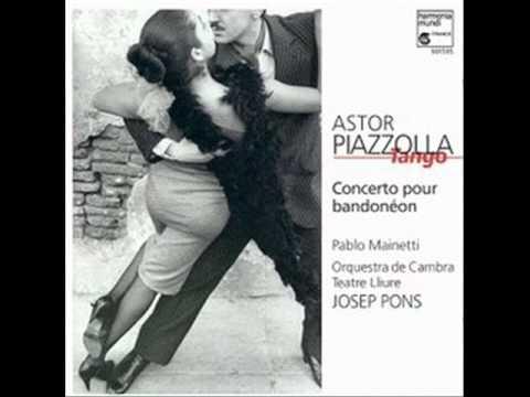 Astor Piazzolla   Concierto para bandoneón y orquesta    I. Allegro Marcato mp3