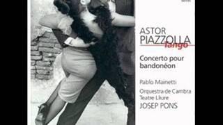 Astor Piazzolla   Concierto para bandoneón y orquesta    I. Allegro Marcato